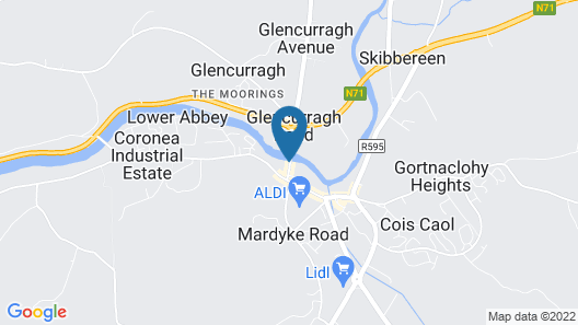 The West Cork Hotel Map