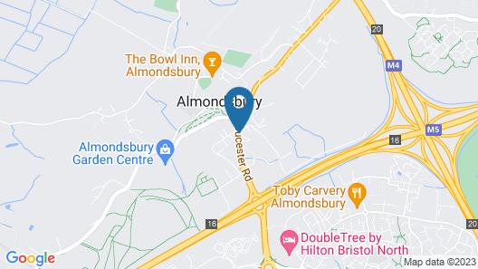 Almondsbury Interchange Hotel Map