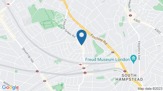 NOX HOTELS - West Hampstead Map