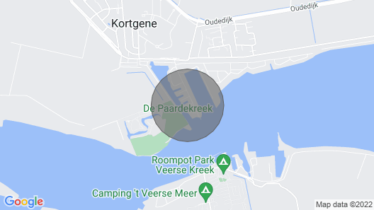Holiday Villa Directly on the Veerse Meer Map