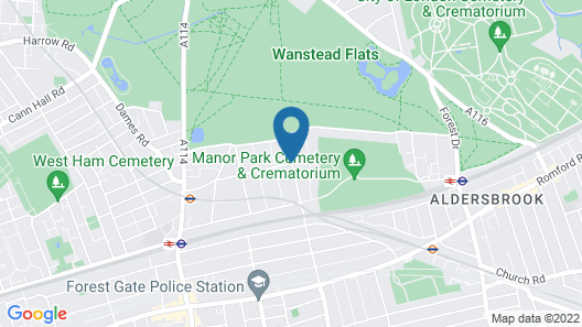 Forest Gate Hotel Map
