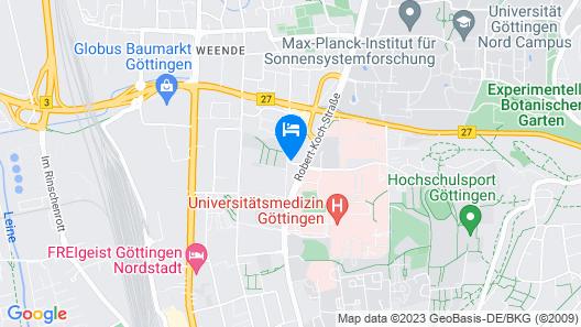 Best Western Hotel Am Papenberg Map