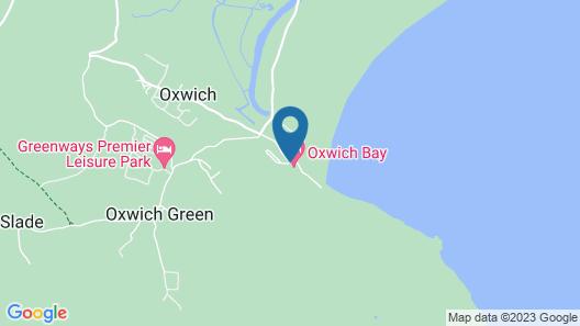 Oxwich Bay Hotel Map