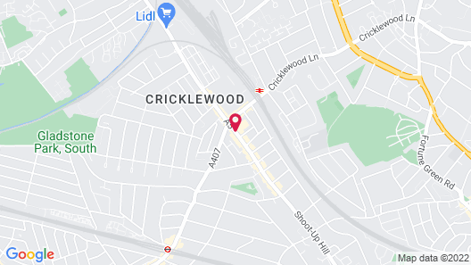 Clayton Crown Hotel London Map