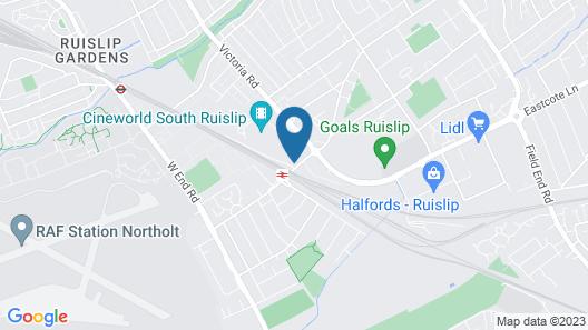 Ramada by Wyndham London South Ruislip Map