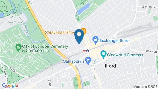 Arran Guest House Map