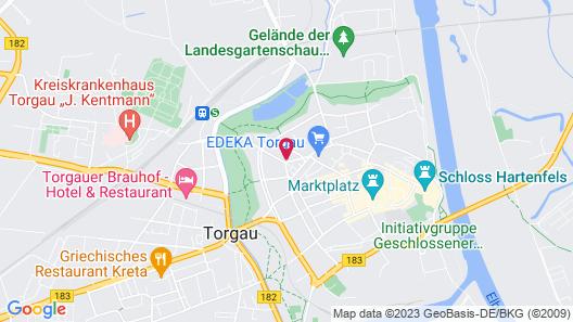Central Hotel Torgau Map