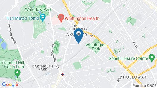 Arch hotel Map