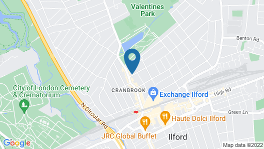 Ilford Luxury Apartments Map