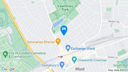 Cranbrook Hotel Map