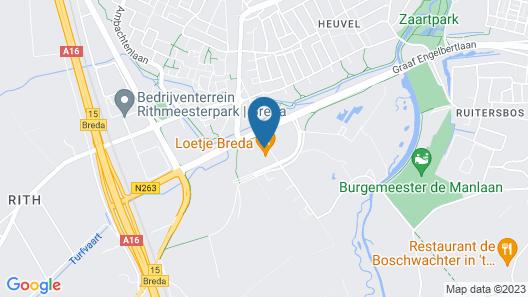 Novotel Breda Map