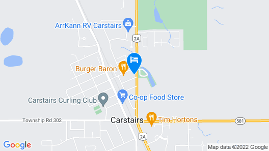 Golden West Motor Inn Map