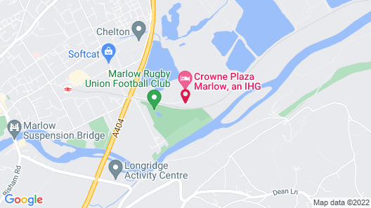 Crowne Plaza Hotel Marlow Map