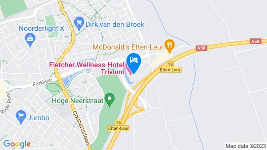 Fletcher Wellness-Hotel Trivium Map