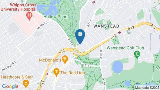 Wanstead Hotel Map