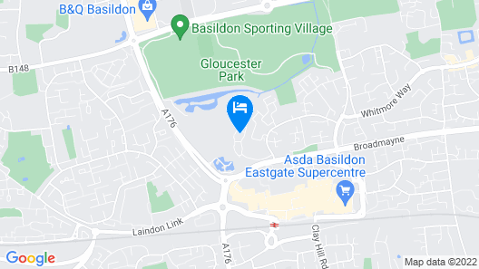 Two Bedroom Apartment in Basildon Map