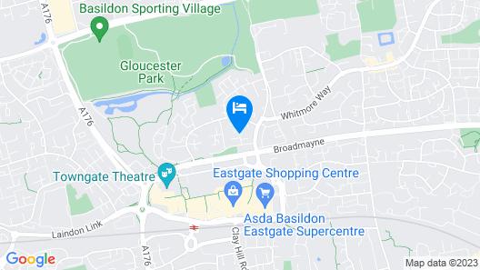 Nice 4 Bed near Basildon Town Centre Map