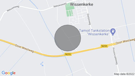 Holiday mill in Zeeland Map