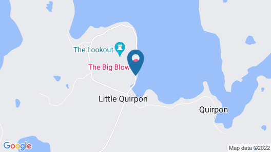 The Big Blow Bed and Breakfast Map