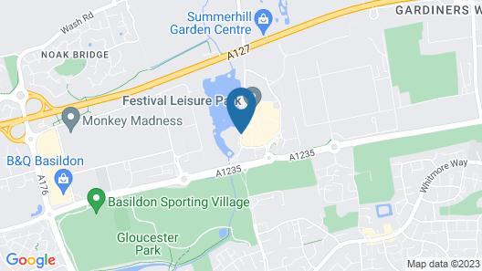 Holiday Inn Basildon Map