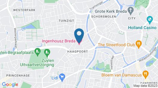 Ingenhousz Breda Map