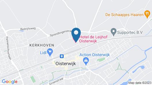 Hotel de Leijhof Oisterwijk Map