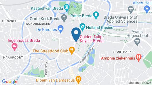 Local Residence By Hotel Keyser Map