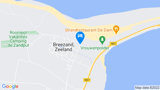 Strandhotel Duinoord Map