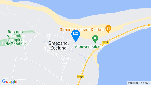 Budget Hotel Vrouwenpolder Map