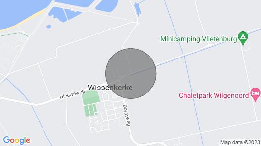 Apartment Country House de Vlasschure in Wissenkerke - 5 Persons, 2 Bedrooms Map