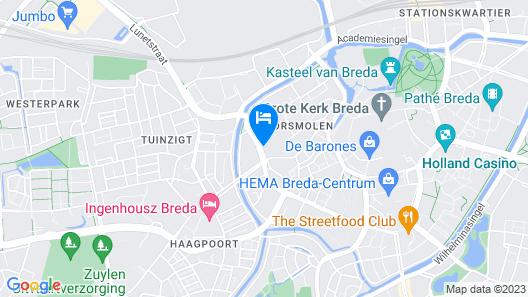 Hotel Merlinde Map
