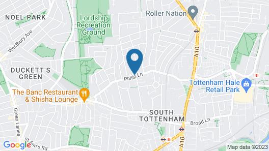 CLN Boutique Apartment Map