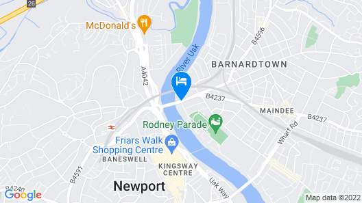 Quay Apartments Clarence House Map