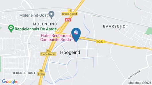 Campanile Hotel Breda Map
