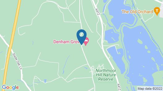 Denham Grove Map