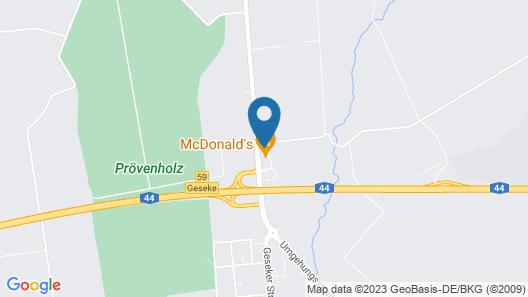 Motel 44 Map