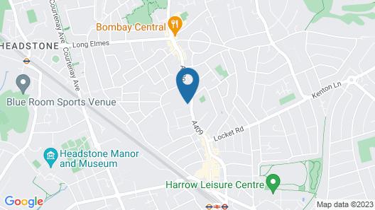 Harrow City Apartment Map