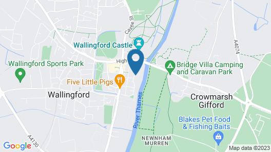 Oxfords Brookes University, Thames Street Map