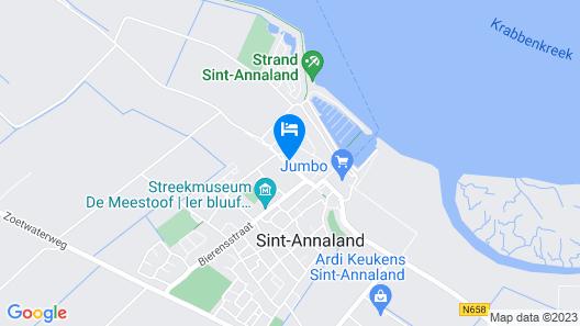 Authentic Zeeuws Dijkhuisje (near the beach!) Map