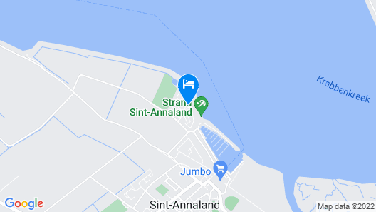 3 Bedroom Accommodation in Sint-annaland Map