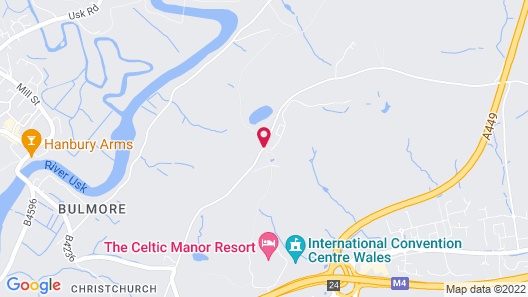 Celtic Manor Resort Map
