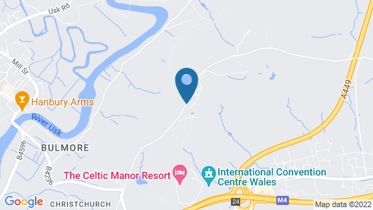 Celtic Manor Resort Map