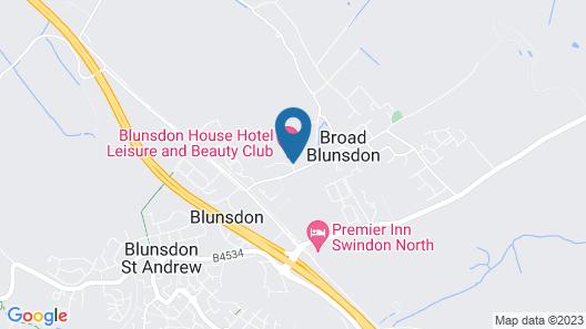 Swindon Blunsdon House Hotel, BW Premier Collection Map