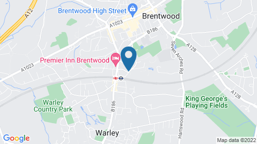 Brentwood Guest House Hotel Map