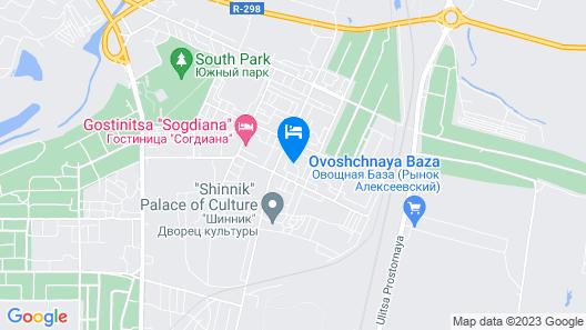 Otel NeChaev Map