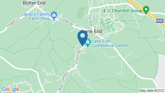 Lane End Map