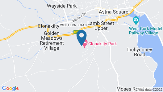 Clonakilty Park Hotel Map