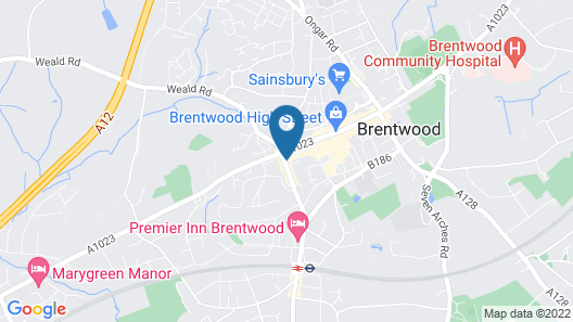Icon Brentwood City Apartment  Map