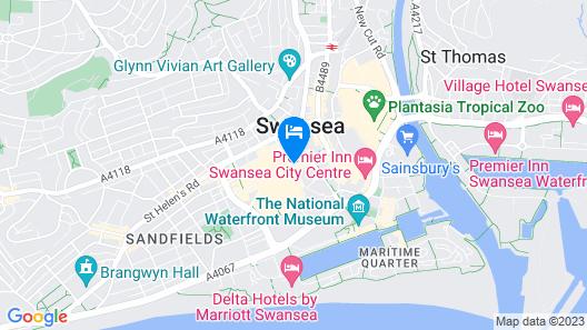 The Dolphin SA1 Hotel Map