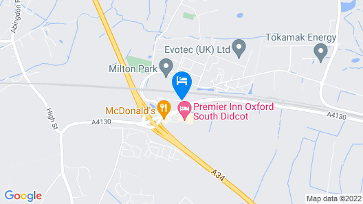 Courtyard by Marriott Oxford South Map